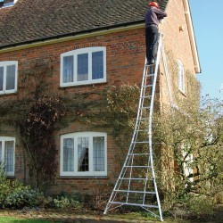 Platform Tripod Ladder 16ft Fully Adjustable