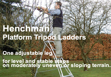 Henchman Platform Tripod Ladders